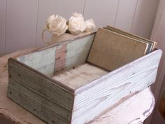 love this wood box