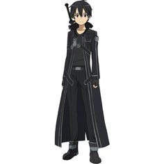CaV Kirito vs Death OPEN VOTING ❤ liked on Polyvore featuring anime, manga, sao, fillers and sword art online