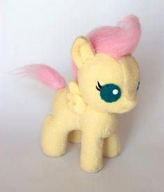 Baby Fluttershy Plush by SamanthaJMason on Etsy, £45.00