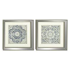 818b899f3ed72 Decmode Polystone Mirror Framed Art