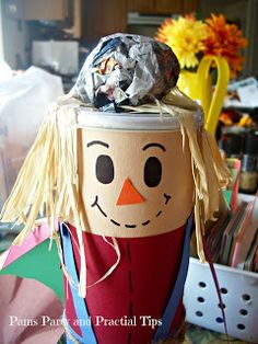 Pringles Can Scarecrow