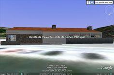 Modelação 3D da Quinta da Paiva, em Miranda do Corvo.  Pode encontrar este nosso trabalho na camada earth do google maps.