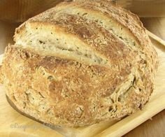 Home made Italian bread - zesty herbed style