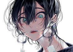 Hot Anime Boy, Cute Anime Guys, Anime Art Girl, Manga Girl, Arte Emo, Manga Kawaii, Estilo Anime, Anime Oc, Anime Artwork