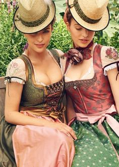 Another modern version of German / Austrian traditional costume