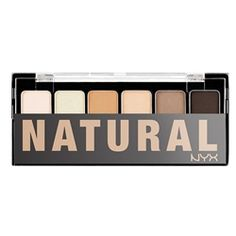 THE NATURAL SHADOW PALETTE/ Addicted to this. It's also what Max uses for his bruise special effects. Sold at CVS.