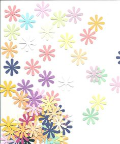 Flowers 8 Petals   50 total    Hand Punched    by sagebrush12, $3.00