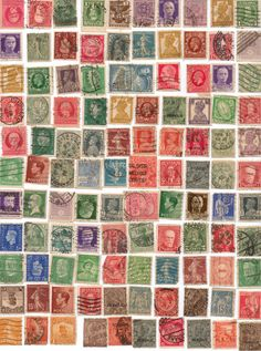100 Random Assorted Vintage International Stamps by Boulinn25, $5.50