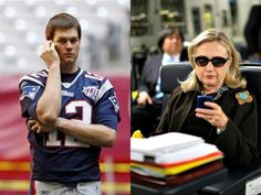 Journalists hold Brady to a higher standard than Hillary Clinton