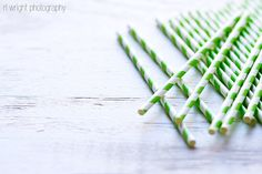 Paper Straws  Photos by RL Wright Photography