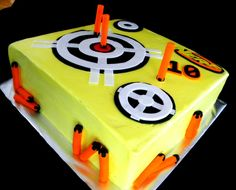 nerf birthday cupcakes - Google Search