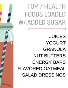 So you think you're eating healthy foods, huh? You might be, but added sugars are lurking in the shadows of many of foods claiming to be health foods. The labels are usually very luring,claiming to be fat-free, organic, or gluten free, but what do they have to say about added sugar? We're here to point …Continue Reading...