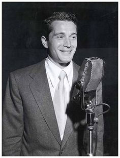 Perry Como. Seriously one of my favorite singers as a kid.