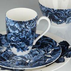 Midnight Blue Dinnerware by Marchesa
