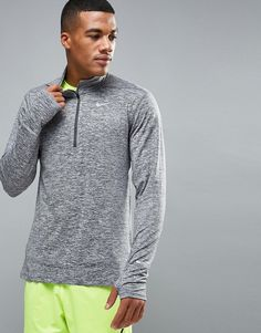 Get this Nike Running's fit t-shirt now! Click for more details. Worldwide shipping. Nike Running Element Half-Zip Dri-Fit Top In Grey 683485-021 - Grey: Sweatshirt by Nike, Supplier code: 683485-021, Moisture-managing Dri-FIT fabric, Designed to keep you cool and dry, Added stretch for comfort, Funnel neck, Taped zip fastening, Signature Swoosh logo, Reflective details for added visibility, Thumbhole cuffs, Regular fit - true to size, Machine wash, 88% Polyester, 12% Elastane, Our model…