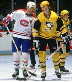 Larry Robinson | Montreal Canadians Mario Lemieux | Pittsburgh Penguins