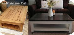 Coffee Table Refinished