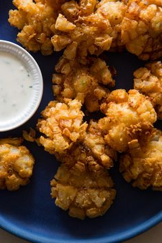 Mini Bloomin' Onions recipe - so cute!