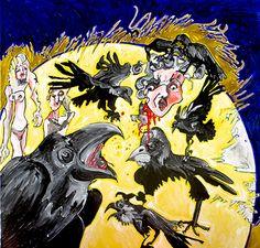 Echange artistique avec Paul Sanda, poëte de Cordes sur Ciel