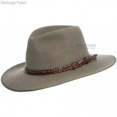 """From the Akubra Heritage Collection"""" Akubra Hats, Leather Hats, Love Hat, Outfits With Hats, Beanies, Hats For Men, Ranger, Cowboy Hats, Work Wear"""