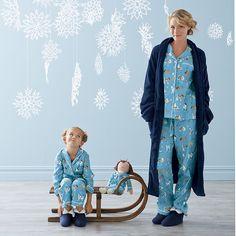 Mother/Daughter Posh Pets Pajamas| The Company Store #pjnight