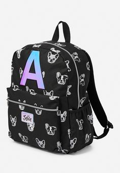 Buy Justice Girls initial E Puppy Dog backpack Puppy Backpack, Backpack Purse, Mini Backpack, Cute Backpacks, Girl Backpacks, School Backpacks, Justice Backpacks, Justice Bags, Cute Uggs