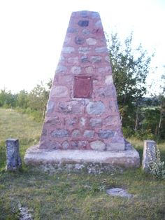 Fort Ellice and Beaver House Monument