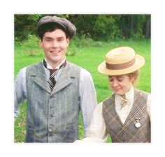 Anne Shirley and Gilberth Blythe