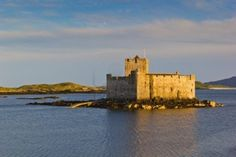 Kisimul Castle (Scottish Gaelic: Caisteal Chiseamail), also spelt Kiessimul Castle or Chisimul Castle, is a small medieval castle located in the centre of Castlebay on Barra, an island of the Outer Hebrides,