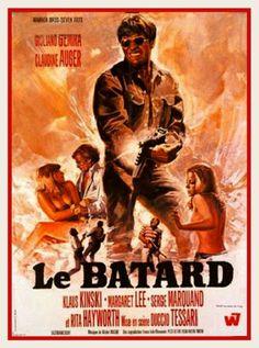 "The Bastard (1968) ""I bastardi"" (original title) Stars: Rita Hayworth, Giuliano Gemma, Klaus Kinski, Margaret Lee, Claudine Auger ~ Director: Duccio Tessari"