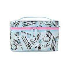 Zoella Frosted Vanity Case