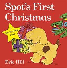 Spot's First Christmas by Eric Hill http://www.amazon.co.uk/dp/0723271518/ref=cm_sw_r_pi_dp_NaBoub17Z4YH5
