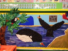 The snail and the whale class display