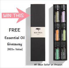Sign Up For Free Essential Oils Giveaway | Soothing Lotus