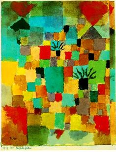 Southern (Tunisian) Gardens by Paul Klee (1879-1940)
