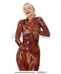 Apologise, can Naked chocolate cover women picture
