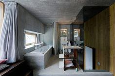 Una casa bajo tierra en la Villa Nora Vals (26 imágenes)   Tikinti