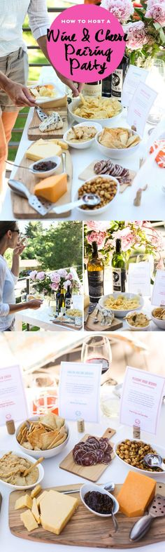 You don't need a fancy home on the ocean or tuxedo-ed waiters hanging on your every whim to throw a fun pairing party. All you need is: friends, a few bottles of wine and of course, cheese.