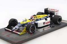 Williams FW11B, World Champion Formula 1 1987, GP Japan 1987, No.6, Nelson Piquet, Canon Williams Honda Team. Minichamps, 1/18. Price (2016): 180 EUR.