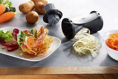 Gefu 13780 Spiralschneider Spirelli 2,0, Edelstahl, schwarz: Amazon.de: Küche & Haushalt