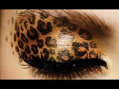 How To Do Leopard Eyeshadow Makeup: HD Makeup Tutorial