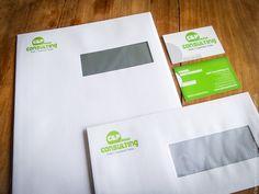 Design logo met bijpassende huisstijl voor onze klant C&P Consulting van de groep Safety Systems // inclusief drukwerk   @www.twindesignbvba.be