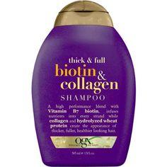 OGX Biotin & Collagen Shampoo, 13 fl oz - Walmart.com