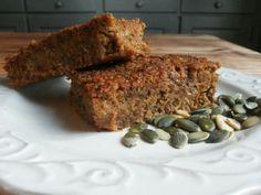 Wortelcake: lactosevrij, glutenvrij, suikervrij en vrij van soja en ei .