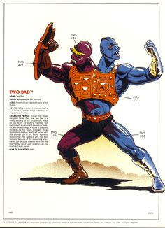 Two Bad. He-man. Masters of the Universe.