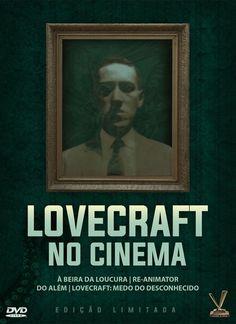 """Box de DVDs """"Lovecraft no Cinema"""""""