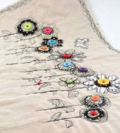 1085 Best Hand Machine Ribbon Embroidery Images Stitches