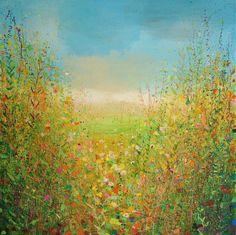 "Saatchi Art Artist: Sandy Dooley; Acrylic 2013 Painting ""Indian Summer """