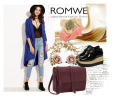 """ROMWE 10"" by aida-1999 ❤ liked on Polyvore featuring Oxford and Les Néréides"