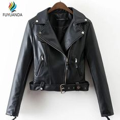 Bomber Zipper Black Jacket Leather Coat